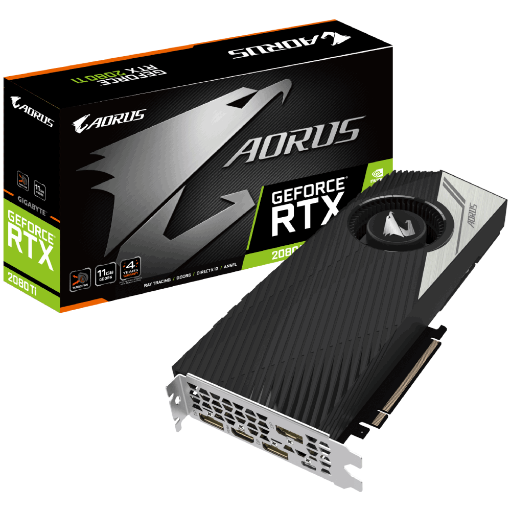 AORUS GeForce RTX™ 2080 Ti TURBO 11G